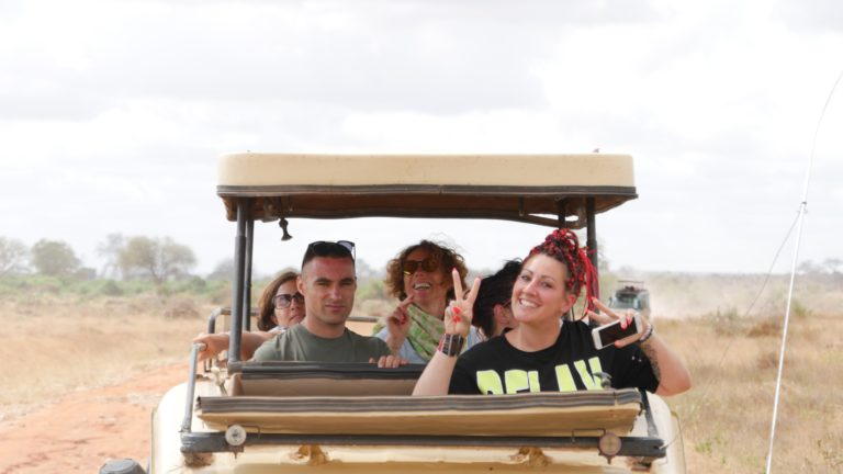 Jeep Safari Tsavo East