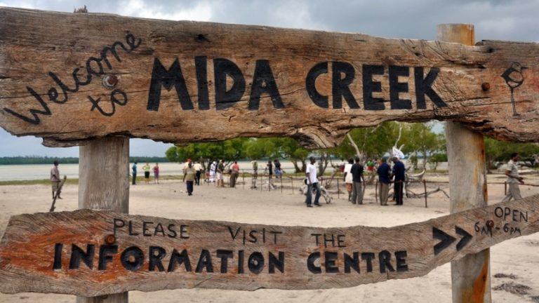 Mida Creek Holzsteg 2